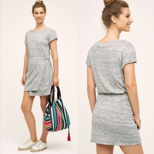 Maeve (Anthro) Wrap Tee Dress